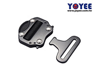 Alloy Steel. 2 Inch Seat Belt Buckle